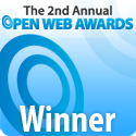 Open Web Awards 2009 Winner