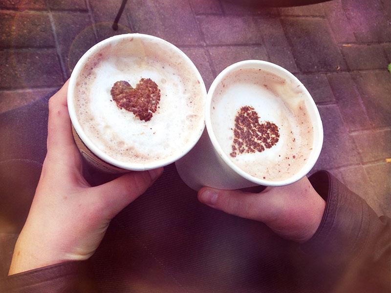 Dunkin Donuts Says So: Coffee Brews Romance