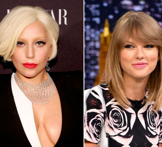 Lady Gaga Taylor Swift (US magazine)