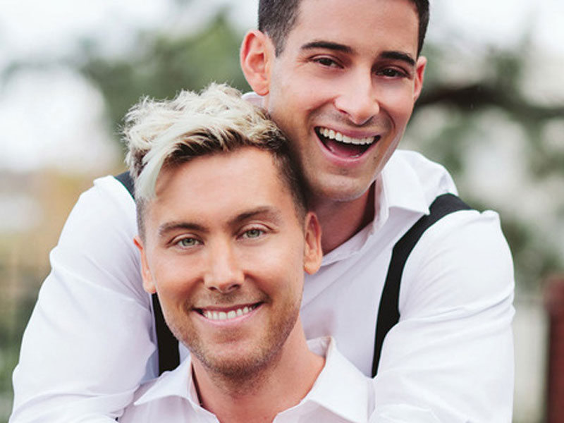 Lance Bass and Michael Turchin are two of the top five gay couples.