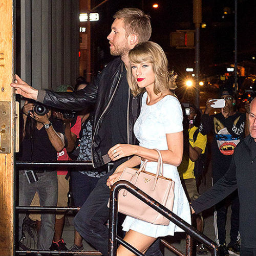 calvin harris and taylor swift started dating a divorced