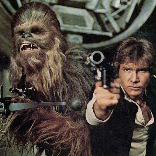 star wars chewie