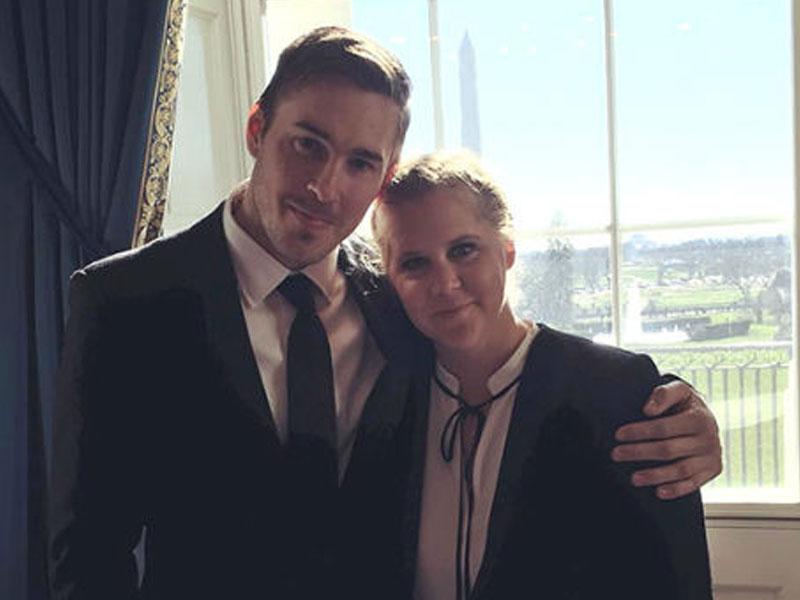 Amy Schumer and her new boyfriend