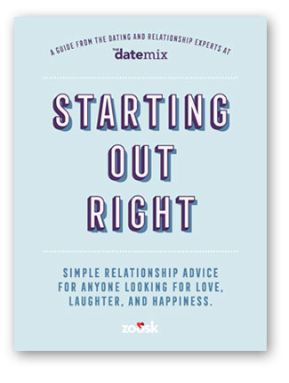 New Relationship Advice - Starting Out Right book