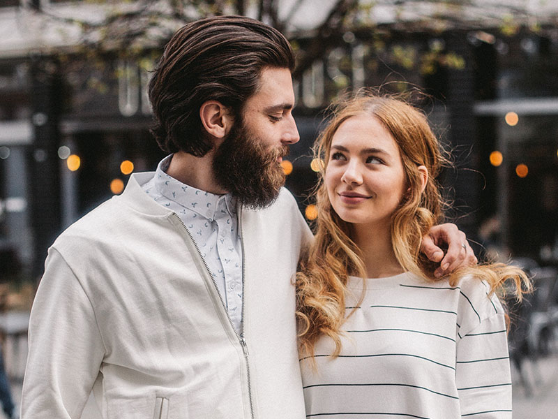 This couple met in one of the best cities to be single in.