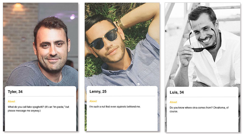 copy and paste dating profiles