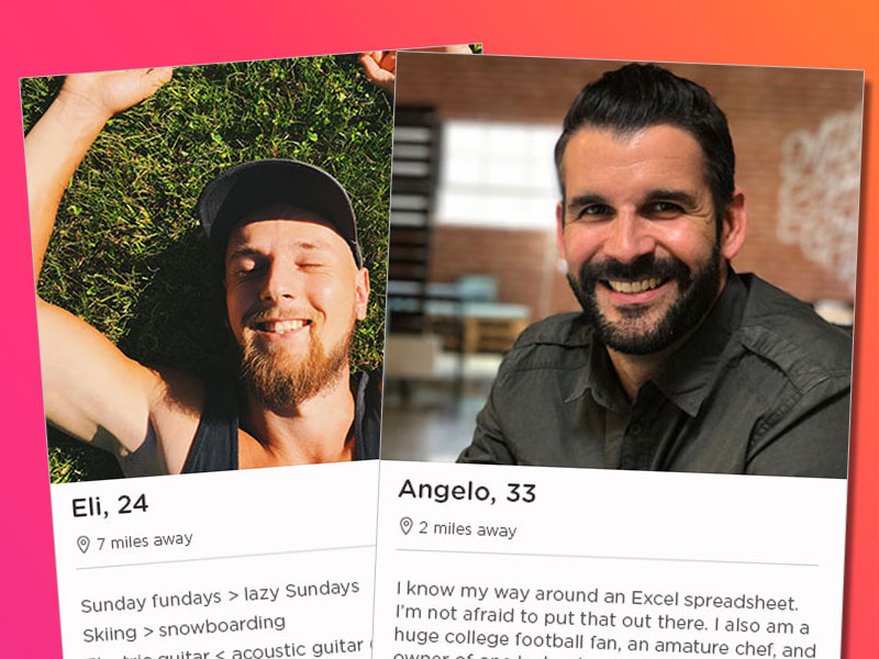 How to write a tinder bio male