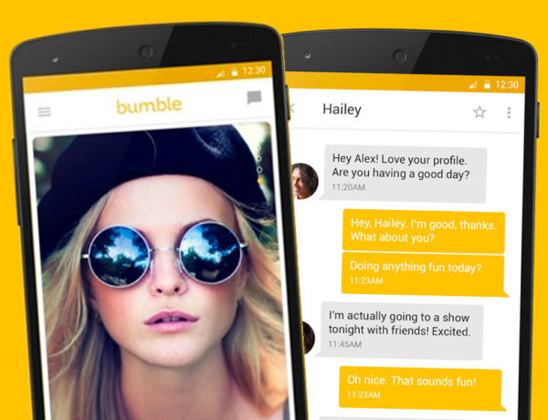 A screenshot of the Bumble app showing how does Bumble work.