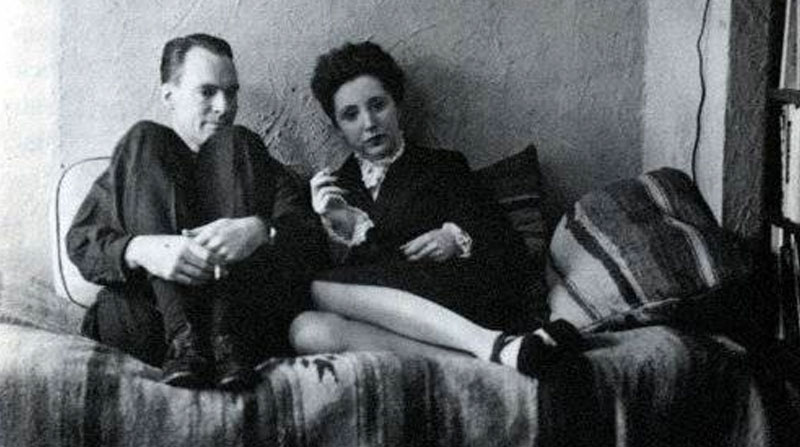 Henry Miller and Anais Nin around the time when he made this declaration of love.