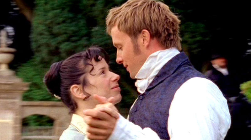 A still from the movie Persuasion where this declaration of love comes from.
