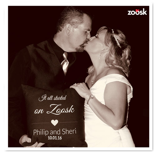 Zoosk Success Couple Philip and Sheri