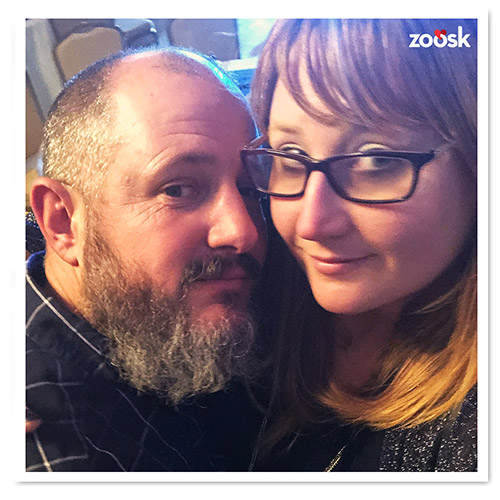 Zoosk Success Couple Dixie and Kris