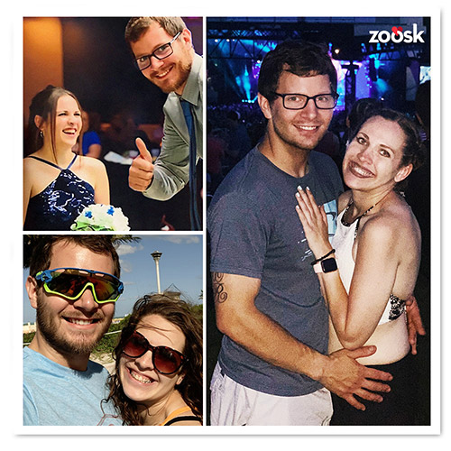 Zoosk Success Couple Kelly and Mike
