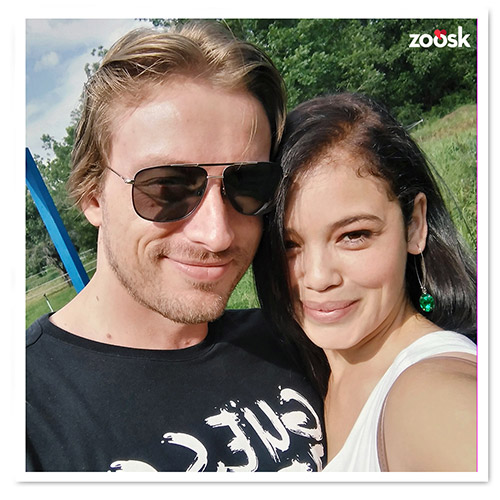 Zoosk Success Couple Rosslinda and Johannes