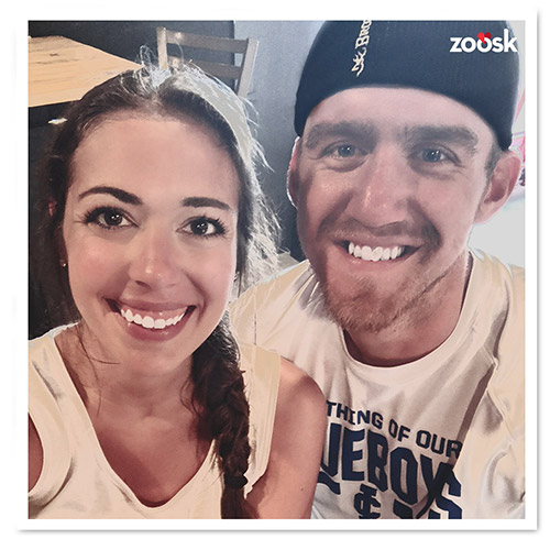 Zoosk Success Couple Kaitlyn and Cole