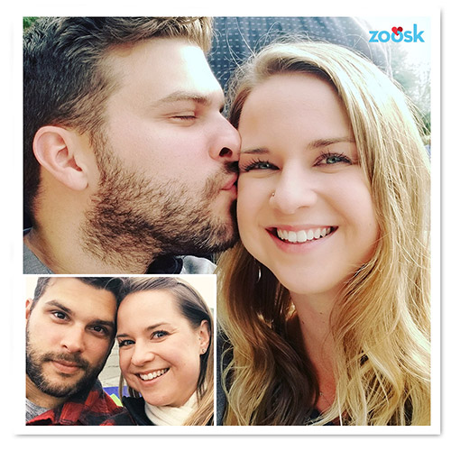 Zoosk Success Couple Andrea and John