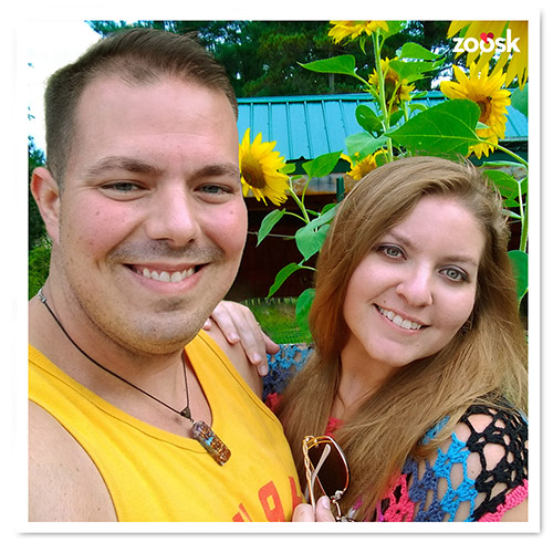 Zoosk Success Couple Ray and Rachel