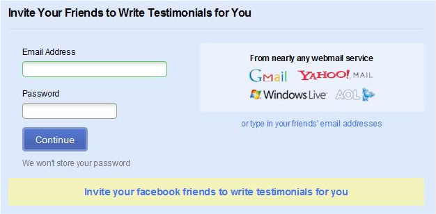Having good testimonials might get you a date - Zoosk